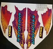 1995 Yamaha Banshee Full Graphics Kit Decals Stickers Thick And High Gloss