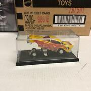 Hot Wheel Chevrolet Funny Car 57 Yellow Limited Diecast Mini Model Collectible