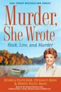 Murder She Wrote Hook Line And Murder By Donald Bain And Renee Paley-bain Hc New