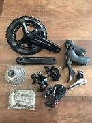 Shimano And Dura Ace R9100 Cycling Parts Set Of 6 From Japan Free Shipping