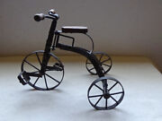 Antique Reproduction Cast Iron Tricycle In Very Good Condition