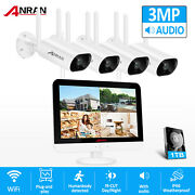 3.0mp Wifi Home Security Camera System Outdoor Wireless 1tb Hdd Video P2p Cctv