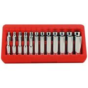 Greatneck 18622 22 Pc 1/4 Drive Deep/shallow Socket Set With Tray- Metric