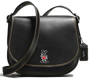 Disney X Coach Mickey Mouse Saddle Bag 23 Extremely Rare 1941 Product 38421