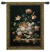 Bouquet Of Majesty North American Made Woven Tapestry Wall Hanging