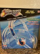 Zoom Tubes Rc Car Trax Main Kit 25-pc Set With 1 Blue Race And Over 12ft Of Tubes