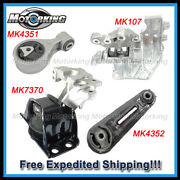 D010 For 08-15 Nissan Rogue/ 14-15 Rogue Select 2wd 2.5l Motor And Trans Mount