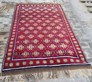 Baluch Rug 9and039x5and0397 Ft Nomadic Afghan Baluch Rug Vintage Sheep Wool Area Rug Large
