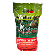 Horticultural Hydrated Lime 5 Lbs Corrects Soil Acidity Shrubs Flowers Lawns