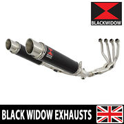 Z900rs And Cafe 4-2 De-cat Race Exhaust System Gp Round Stainless Silencers Bg35r