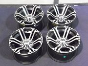 Yamaha Grizzly 660 12 Itp Ss212 M Aluminum Atv Wheels Complete Set 4 Irs1ca