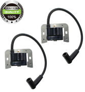 2pc Black Ignition Coil Kohler 24 584 01-s And 24 584 04-s 8x5cm For Ch18-20