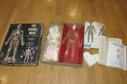 Vintage 1959 Renwal The Visible Man Science Assembly Project Kit Model 800-598