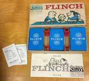 1963 Vintage Flinch, The Famous Card Game By Parker Brothers, Ages 8 To Adult