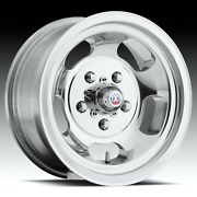 Cpp Us Mags U101 Indy Wheels 15x8 + 15x9 Fits Plymouth Belvedere Fury Gtx