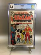 Shazam 1 Cgc 9.6 White Pages 1973 First Dc Appearance Of Captain Marvel Movie