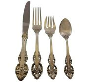 El Greco By Reed And Barton Sterling Silver Flatware Service For 8 Set 39 Pieces