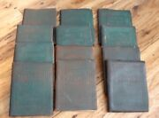 Vintage Collectible Little Leather Library Books Set Of 12