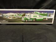 2010 Hess Toy Truck And Jet Nib