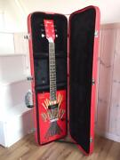 Pocky Electric Guitar Limited Product Rare Good Condition From Japan F/s