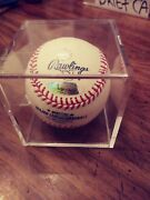 Troy Glaus Autographed Baseball With Hologram Authentication Sticker