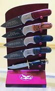 Collectible Knives In Good Condition Falkin R Stainless Steel 420 P.r.c