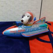 Tin Toy Snoopy Space Patrol Peanuts 60and039s Vintage Made In Japan Rare F/s