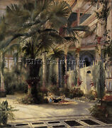 German Blechen Karl In The Palm House In Potsdam Artiste Reproduction Peinture