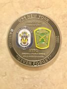 Nypd Rare Uss Ny Commissioned 11/7/09 Fire Arm And Tactics Force Protection Detail