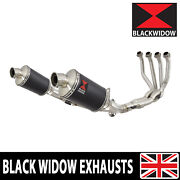 Kawasaki Z900rs And Cafe 4-2 De-cat Race Exhaust System + Mufflers Oval Bn23v