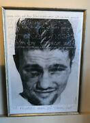 Bruce Weber Broken Noses Art Print Poster Movie Collectible 1987 Rare F/s Wall