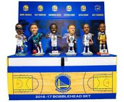 2016-17 Golden State Warriors Complete Bobblehead Set Sga Curry Durant Brand New