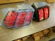 Nos Oem Ford 1999 - 2004 Mustang Tail Lights Lamps Pair 2000 2001 2002 2003 Gt