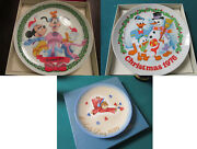 Collector Plates Schmid Christmas Plates 1975/1976/1979 Pick One