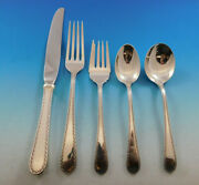 Winslow By Kirk Stieff Sterling Silver Flatware Set For 8 Service 44 Pieces