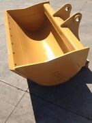 New 48 Caterpillar 308c Ditch Cleaning Bucket With Pins