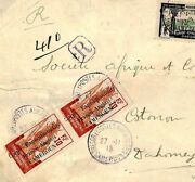Cameroun Ww1 Cover Anglo-french Occupation France Colonies 1915 Registered F86b