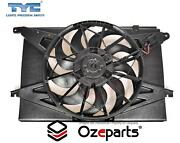 Single Thermo Radiator Fan And Motor For Ford Falcon Ba Bf 20022008