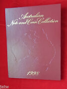 1998 Npa Note And Coin Collection Portfolio Of 5 Notes With Matched Zz 98 Serials