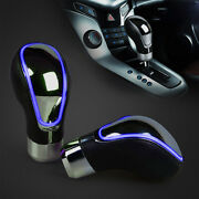 Blue Touch Activated Sensor Led Light Gear Shift Knob Multicolor Usb Charger