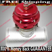 Red Universal 50mm Emusa Blow Off Valve+3adapter For Toyota/nissan/honda