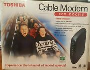 New Boxed Toshiba Docsis Cable Pcx2200 Daz8817f-r 43 Mbps