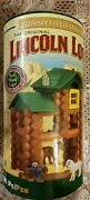 Lincoln Logs Sunnyfield Stable Building Set Horse Animals Barn Farm 86 Pcs New