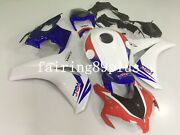 White Blue Red Hrc Abs Injection Fairing Kit Fit For Cbr1000rr 2008-2011 2009