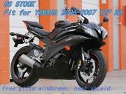 Us Stock Fairing Kit Fit For Yamaha 2006 2007 Yzf R6 Injection Abs Plastics A0a3
