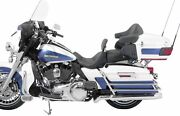 Mustang Motorcycle Products Lowdown Trg W/drv Bkrest-plain 79703 Seats Two-up Se