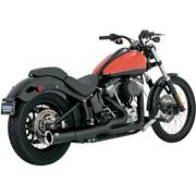 Vance And Hines Pro Pipe Blk 47527 Exhaust Complete