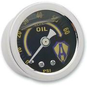 Arlen Ness Oil Pressure Gauge 1-1/2and039and039 15-655 Engine Other
