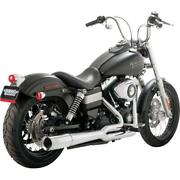 Vance And Hines Pro Pipe Chr 17569 Exhaust Complete