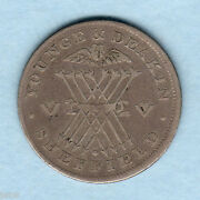 Great Britain. 1811 Silver - Shilling Token. Yorkshire - Younge And Deakin. Fine